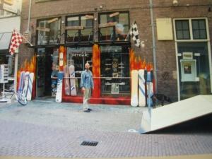 Burnside in de Nieuwstraat