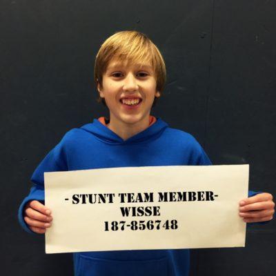 Burnside team member Young Wisse