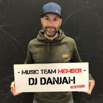 Burnside team member DJ Danjah