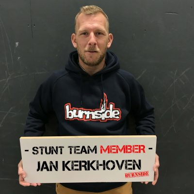 Burnside team member Jan Kerkhoven