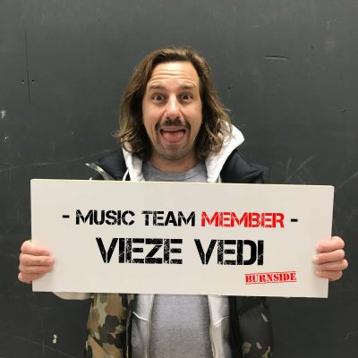 Burnside team member Vieze Vedi