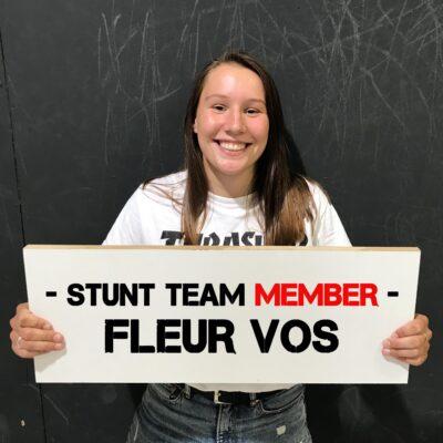 Burnside team member Fleur Vos